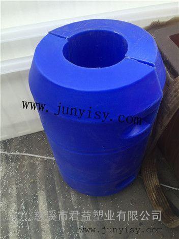 长江抽沙夹管浮筒价格 8寸夹管抽沙浮筒