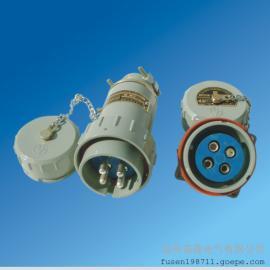 供应铝合金防爆插头插座工业防水插座
