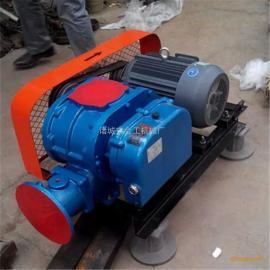 供应高性能三叶罗茨鼓风机 不锈钢罗茨风机 鱼塘增氧机