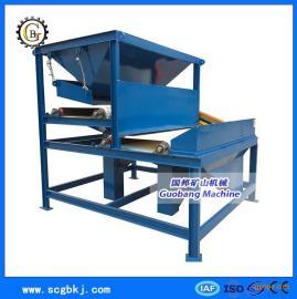 供应TL2G双辊干式磁选机 钛铁矿用强磁选机 锰矿除铁设备