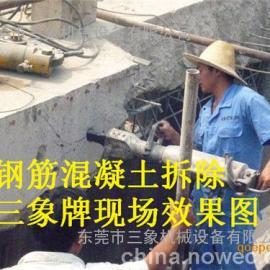 新疆岩石免爆专家大型机载液压劈裂机岩石分裂机