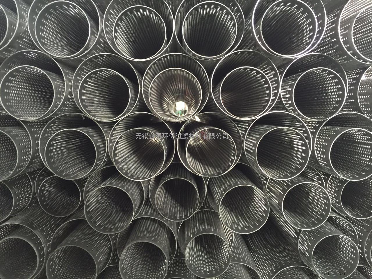 翻边焊螺旋管 冲孔管 网孔管 中心管 滤芯骨架 螺旋焊 搭边焊