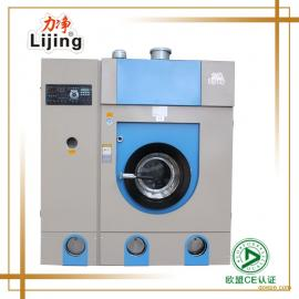 开洗衣店用多大干洗机 广州力净全自动干洗机8kg
