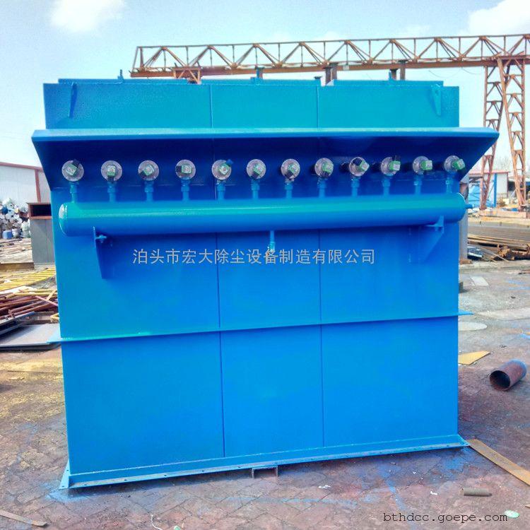 除尘器/布袋除尘器 GMC高温布袋除尘器 单机除尘器