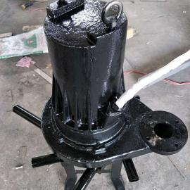 QXB4KW铸铁式潜水曝气机厂家直销 使用效果好