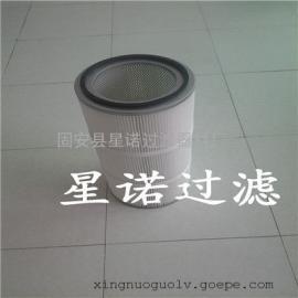 供应风机房覆膜聚酯纤维滤布除尘滤芯
