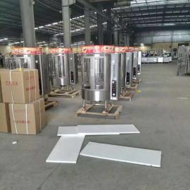 广东850烤鸭炉商用旋转燃气木炭两用圆桶烧鸭机烤鸡烤禽烤箱