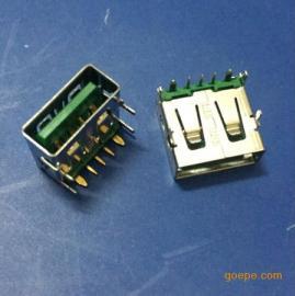OPPO大�流/USB 3.0母座5A快充/�W充5P四�_插板�G色