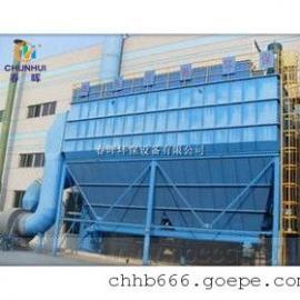 甘肃硅铁炉选用旋风除尘器+布袋除尘器完美结合正确选择