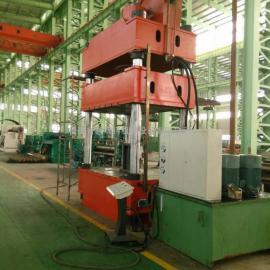 四柱液压机、防盗门压花机、数控PLC编程各种吨位钢木门压花机