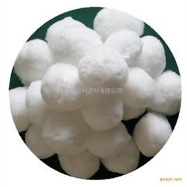 奥林纤维球直径50mm油田炼化含油废水过滤高效除油改性纤维球滤料
