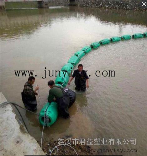 河道拦截垃圾塑料浮体 沈阳水电站拦污浮体