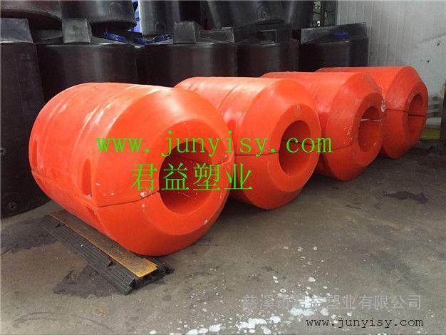 珠海抽泥浆管道浮筒 孔350夹管浮筒