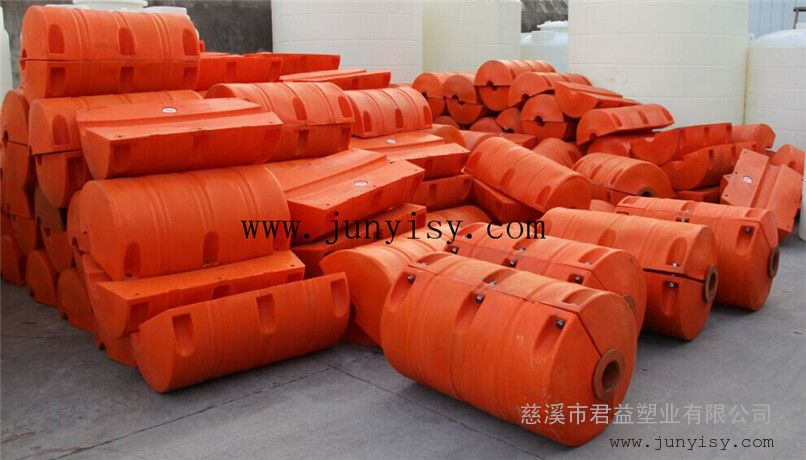 长沙抽沙管道浮筒定做 管径300夹管浮筒
