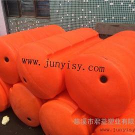 福建600*1200 塑料浮筒 悬浮拦污浮筒