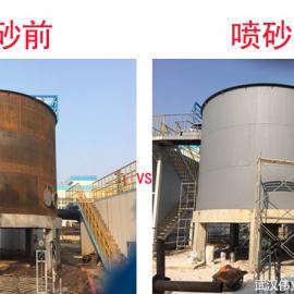 武汉喷砂加工除锈防腐公司