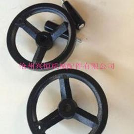 厂家生产铸铁手轮 镀镍手轮 胶木轮