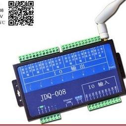 8路网络以太网WIFI继电器控制器|rj45TCP远程电源控制|智能家居