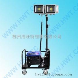 轻便式作业灯 轻便式移动照明车灯 LED轻便式应急升降灯车