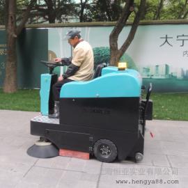 凯叻驾驶式扫地机工厂学校物业小区电瓶式扫地车工厂扫地车1400