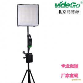 专业摄影灯具柔片灯50W可弯曲双色温便携柔片灯