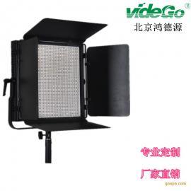演播室灯光LED影视平板灯100W小灯珠2304双色温带DMX