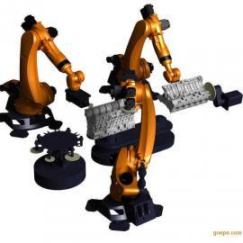 二手智能焊接机器人 岩田喷涂机器人 悬臂机械手