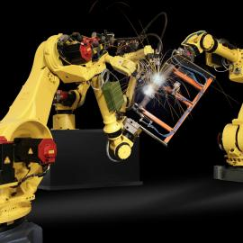 二手yamaha工业机器人 码垛电机 五轴焊接机器人