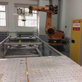 二手上下料工业机器人 托盘码垛机器人 涂胶机械手