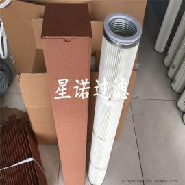 供应仓顶除尘器滤芯、搅拌站专用除尘滤芯