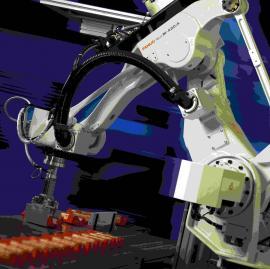 二手六轴工业机器人 粮食码垛机器人 搬运机器人夹具