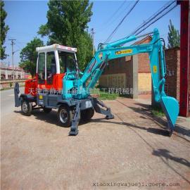 辽宁小型挖掘机|轮式挖掘机厂家