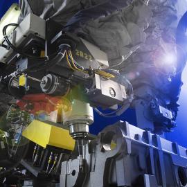 二手叶轮焊接机器人 鞋业涂胶机器人 直角坐标喷涂机器人
