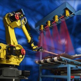 二手智能焊接机器人 上下料木工机 汽车铸件打磨机器人