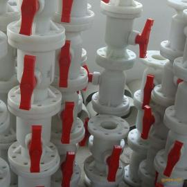 PVDF氟塑料法�m球�y-Q41F-10F