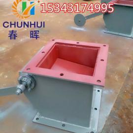 水泥厂卸料器单层重锤翻板卸灰阀原理