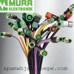 MURR穆尔电子预制线缆和模制的阀插头