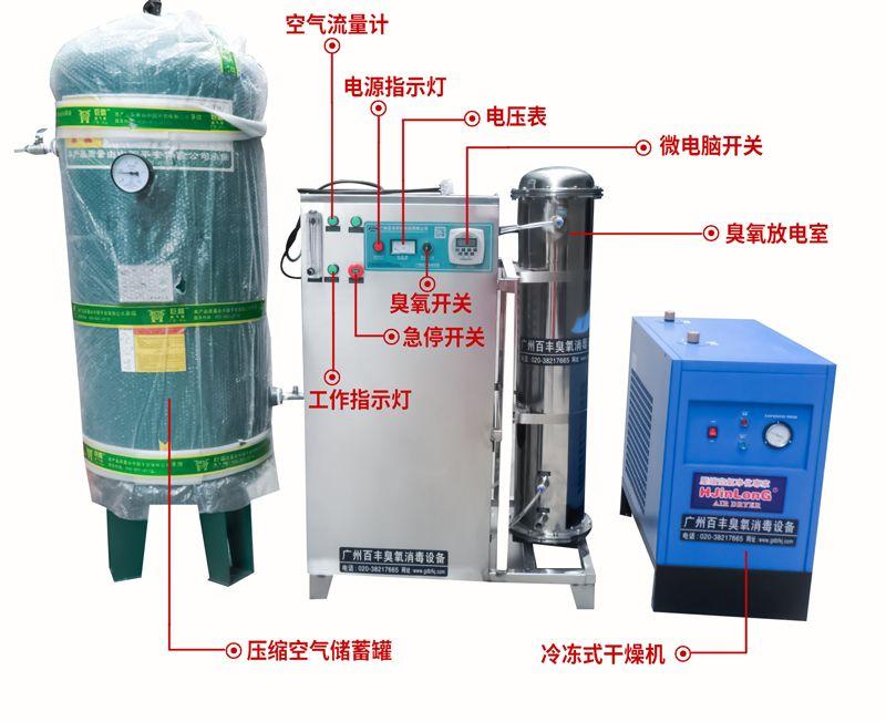 自来水臭氧消毒机 水厂臭氧灭菌消毒设备 井水消毒净化