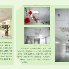 日光照明系统提供免费的绿色照明,应用场所广泛