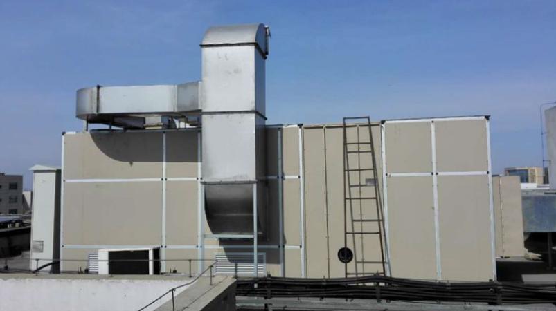 上海变速机喷漆房废气处理设备