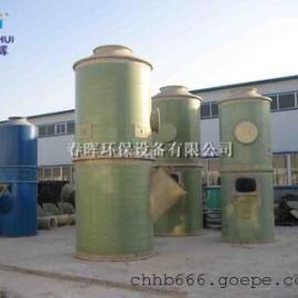 玻璃厂窑炉脱硫布袋除尘器脱硫脱销方案