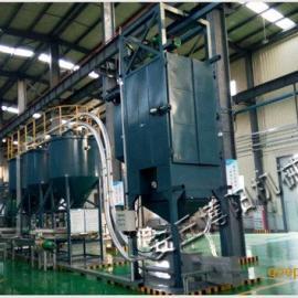 环保型碳酸钙吨袋拆包机|无尘吨包卸料站