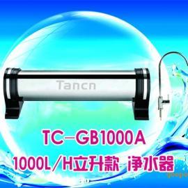 天纯不锈钢管道超滤膜1000L/H立升款净水器厨房纯水机