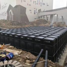 自动化消防抗浮地埋水箱给水系统