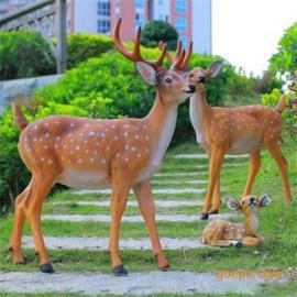 玻璃钢动物雕塑 园林景观美陈雕塑 仿真动物雕塑 小区公园雕塑