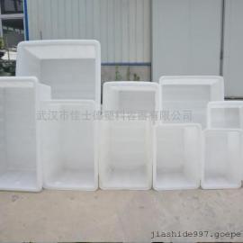 90L塑料方箱 水产塑料箱 方形塑料筐
