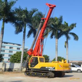 海峨钻桩20米小型旋挖机广东