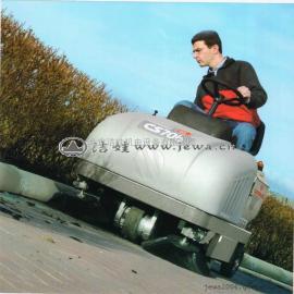 小型清扫车CS70H,COMAC品牌进口燃油型驾驶式扫地车