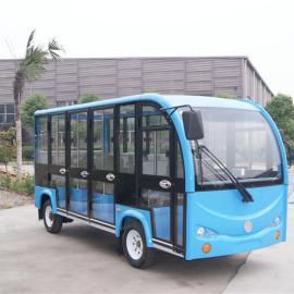 湖北省四轮电动观光车厂家,11座封闭游览车价格,旅游电瓶车
