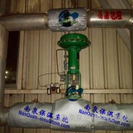 高温阀门防烫保温罩Nansen专业设备保温厂家